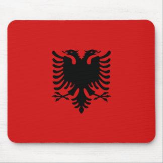 Drapeau Mousepad de l'Albanie Tapis De Souris