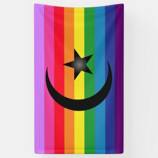 Drapeau musulman étrange banderoles