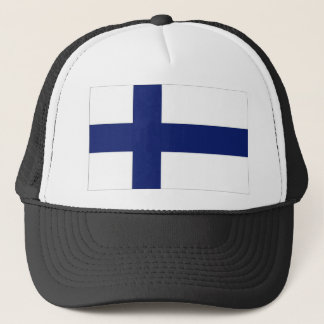 Drapeau national de la Finlande Casquette
