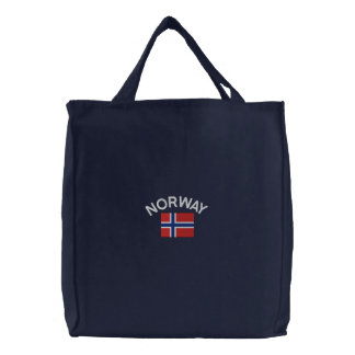 Drapeau national de la Norvège Sacs En Toile