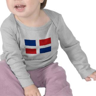 Drapeau national de la République Dominicaine T-shirt