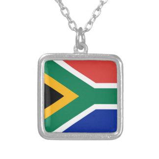 Drapeau national de l'Afrique du Sud - version Pendentifs Personnalisés