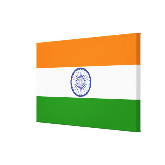 Drapeau national de l'Inde Toiles
