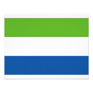 Drapeau national de Sierra Leone Faire-part Personnalisé