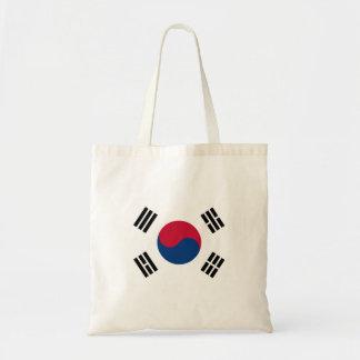 Drapeau national du monde de la Corée du Sud Sac En Toile