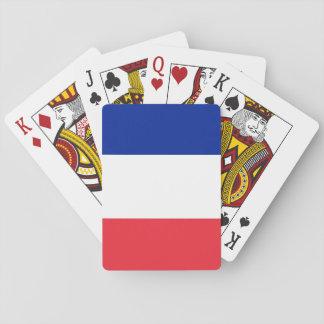 Drapeau national du monde de la France Jeu De Cartes