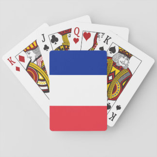 Drapeau national du monde de la France Jeux De Cartes
