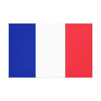 Drapeau national du monde de la France Toile