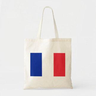 Drapeau national du monde de la France Tote Bag