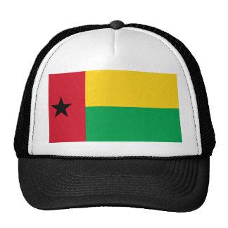 Drapeau national du monde de la Guinée-Bissau Casquette Trucker