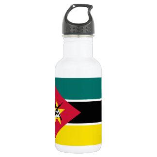 Drapeau national du monde de la Mozambique Bouteille D'eau En Acier Inoxydable