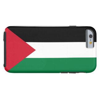 Drapeau national du monde de la Palestine Coque Tough iPhone 6