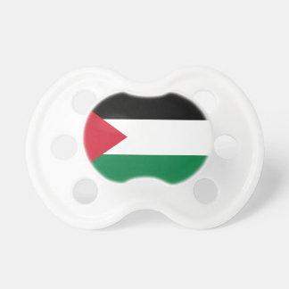 Drapeau national du monde de la Palestine Sucette Pour Bébé