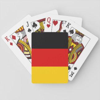 Drapeau national du monde de l'Allemagne Jeu De Cartes