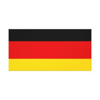 Drapeau national du monde de l'Allemagne Toile