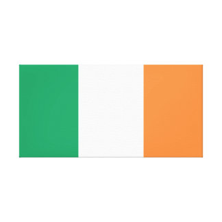 Drapeau national du monde de l'Irlande Toile