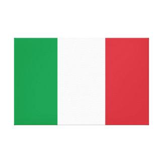 Drapeau national du monde de l'Italie Toile