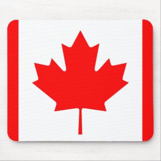 Drapeau national du monde du Canada Tapis De Souris