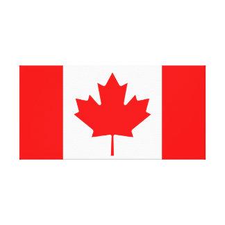 Drapeau national du monde du Canada Toile