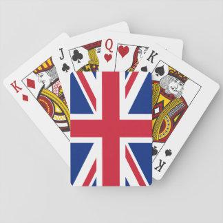 Drapeau national du monde du Royaume-Uni Jeux De Cartes