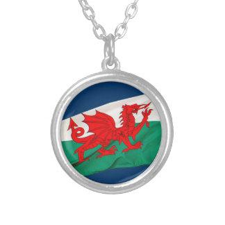Drapeau national du Pays de Galles, le dragon Pendentif Rond
