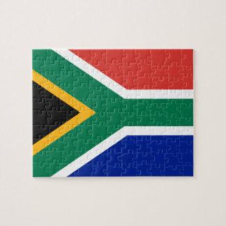 Drapeau national sud-africain puzzle
