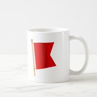Drapeau nautique 'B Mug