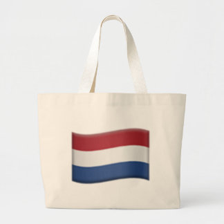 Drapeau néerlandais - Emoji Grand Sac