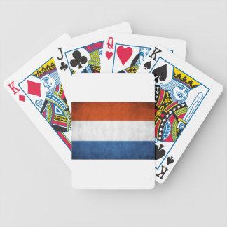 Drapeau néerlandais jeu de cartes