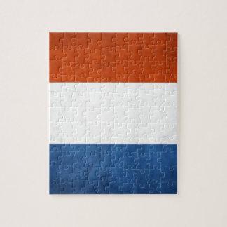 Drapeau néerlandais puzzle
