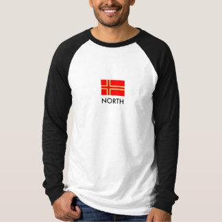 Drapeau normand de saint-Olaf - NORTH T-shirt