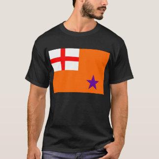 Drapeau orange d'ordre t-shirt