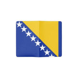 Drapeau patriotique de la Bosnie-Herzégovine Carnet Moleskine De Poche