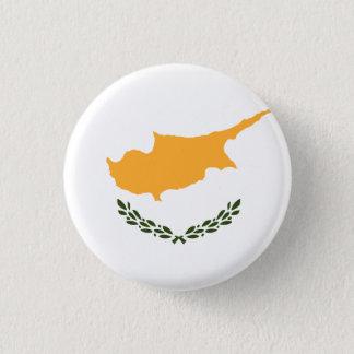 Drapeau patriotique de la Chypre Badge