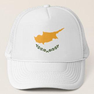 Drapeau patriotique de la Chypre Casquette