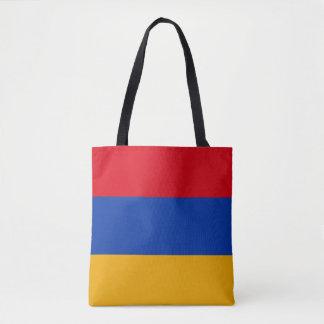 Drapeau patriotique de l'Arménie Sac