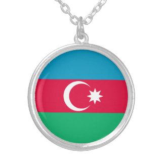 Drapeau patriotique de l'Azerbaïdjan Collier