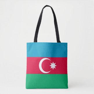 Drapeau patriotique de l'Azerbaïdjan Tote Bag