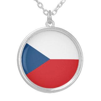 Drapeau patriotique de République Tchèque Collier