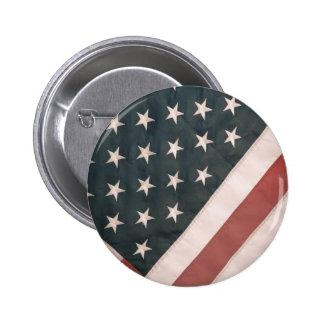 Drapeau patriotique des Etats-Unis Badge