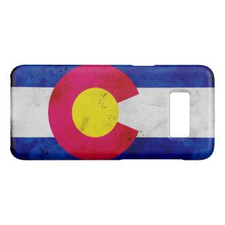 Drapeau patriotique grunge d'état du Colorado Coque Case-Mate Samsung Galaxy S8