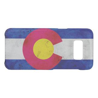 Drapeau patriotique grunge d'état du Colorado Coque Get Uncommon Samsung Galaxy S8