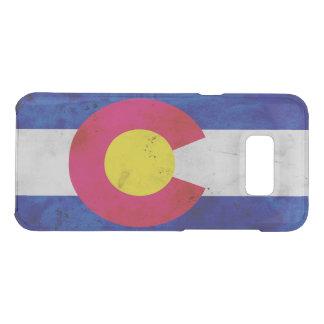 Drapeau patriotique grunge d'état du Colorado Coquer Get Uncommon Samsung Galaxy S8 Plus