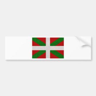 Drapeau Pays Basque Euskadi Autocollant Pour Voiture