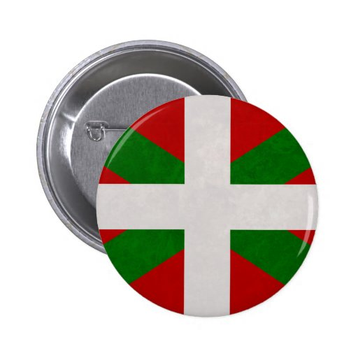 Drapeau Pays Basque Euskadi Badge