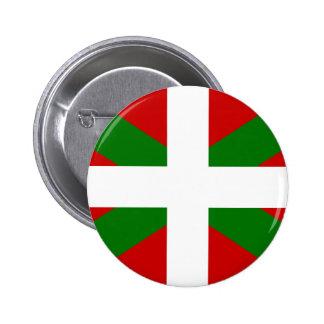 Drapeau pays Basque euskadi Pin's Avec Agrafe