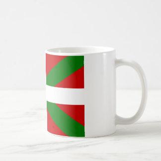 Drapeau pays Basque euskadi Mug Blanc