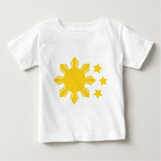 Drapeau philippin - fier d'être Pinoy ! T-shirt Pour Bébé