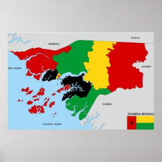 drapeau politique de carte de pays de la affiches