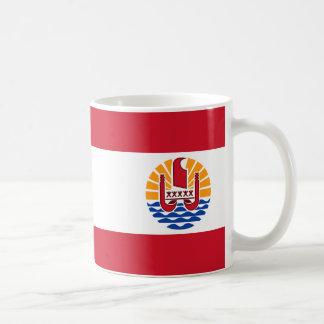 Drapeau polynésien français mug
